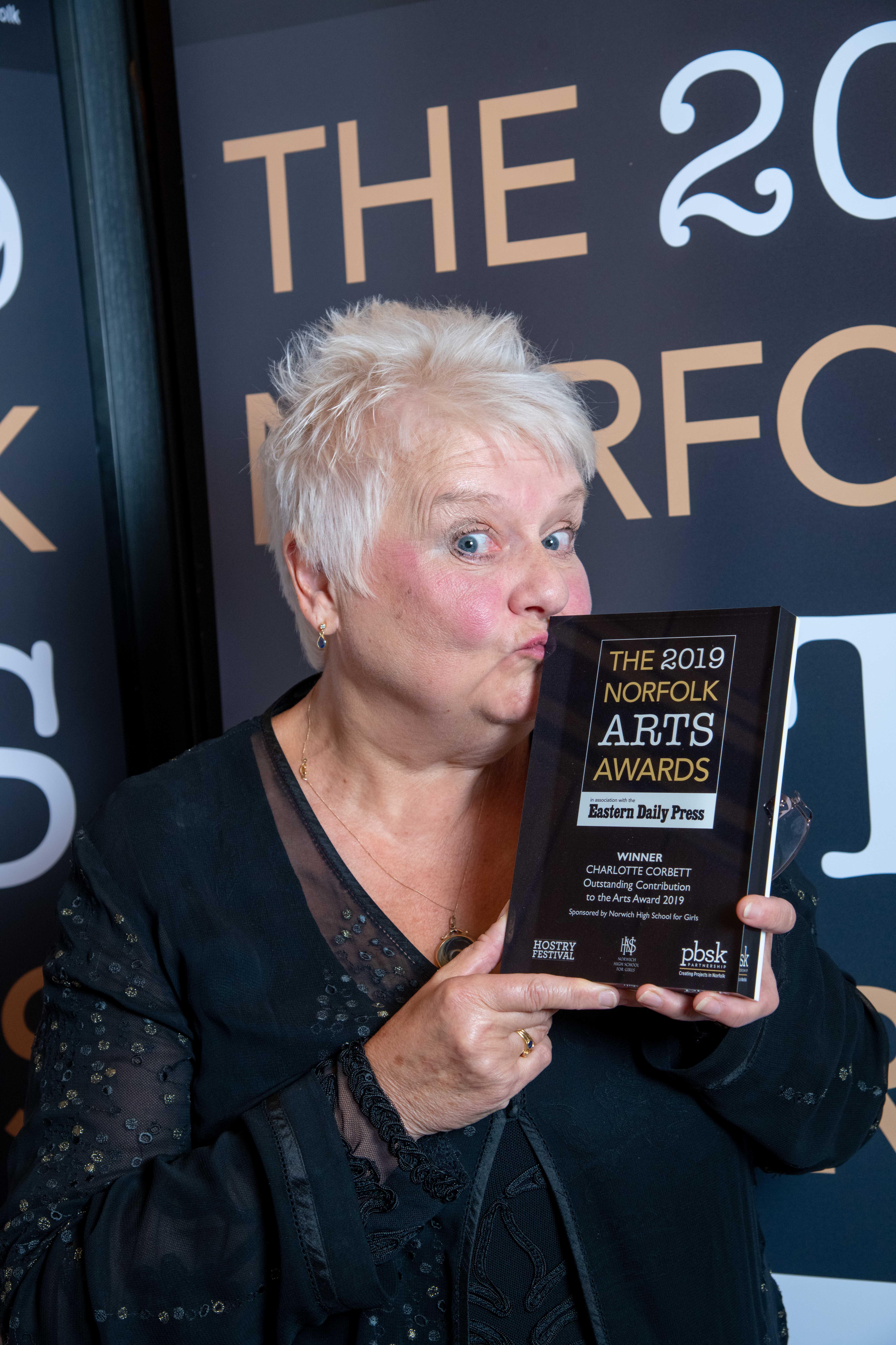Outstanding Contribution Winner: Charlotte Corbett