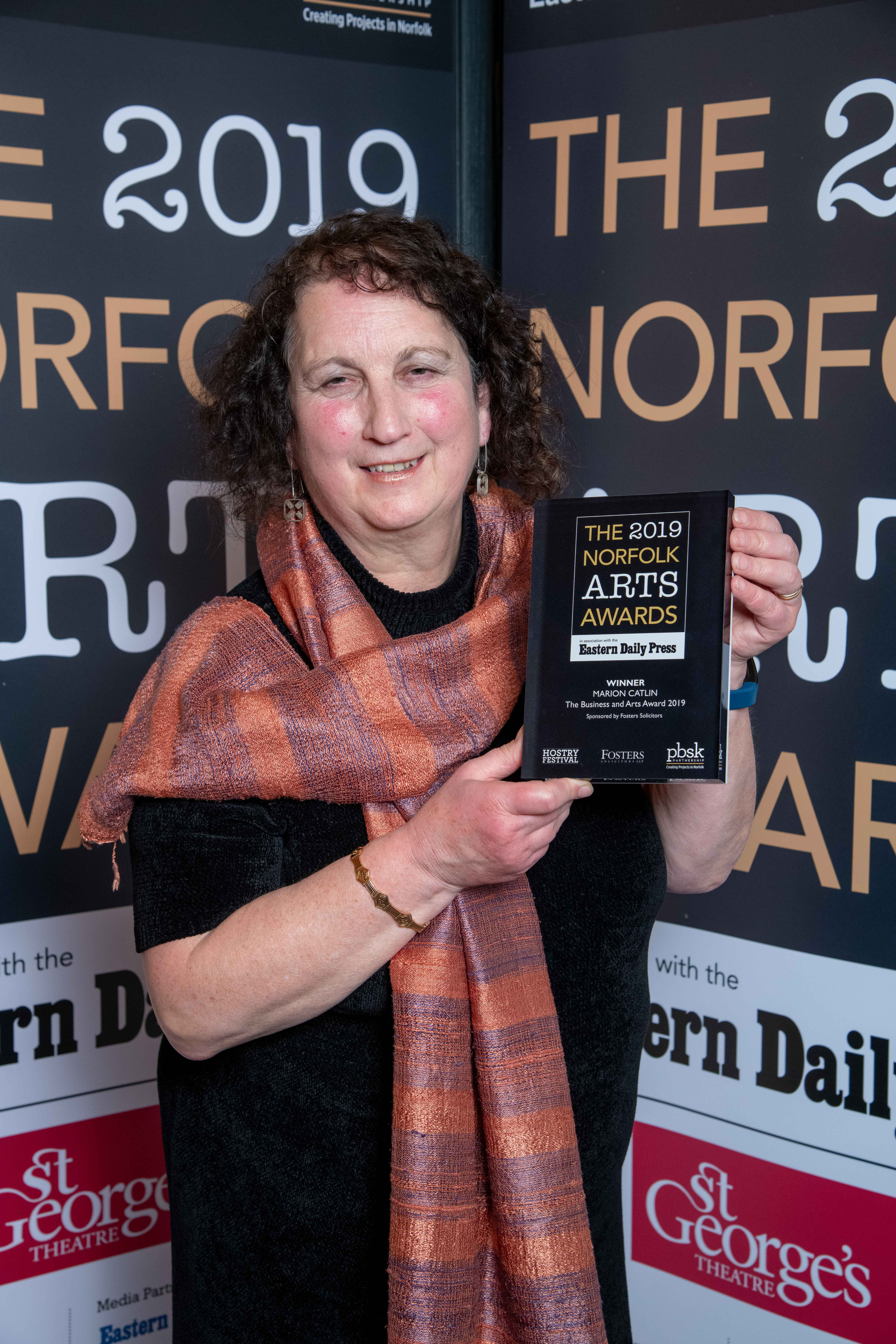 WINNER: Marion Catlin